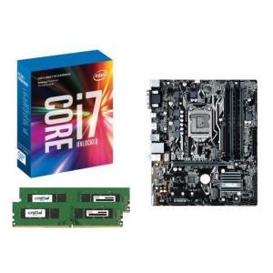 [お買い得3点セット]Intel Core i7 7700K+DDR4-2400 8GB×2枚+ASUS PRIME B250M-A 3点セット goodwill