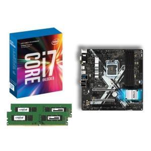 [お買い得3点セット]Intel Core i7 7700K+DDR4-2400 8GB×2枚+ASRock Z270M Extreme4 3点セット goodwill