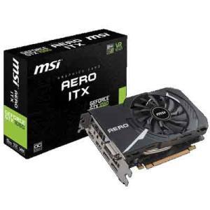 MSI GEFORCE GTX1060 AERO ITX 6G OC GTX1060搭載グラフィックスボード シングルファン設計のショートモデル mini-ITX環境に最適|goodwill