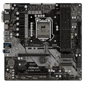 ASRock Z370M Pro4 [MicroATX/LGA1151/Z370搭載] Coffee Lake対応マザーボード|goodwill