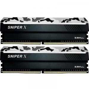 G.Skill F4-3600C19D-32GSXWB [DDR4 PC4-28800 16GB 2枚組] デスクトップ用メモリ Sniper X シリーズ Urban Camo|goodwill