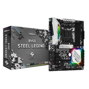 ASRock B450 Steel Legend [ATX/AM4/B450] AMD B450チッ...