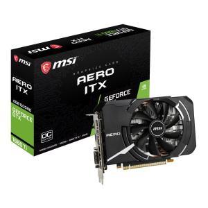 MSI GeForce GTX 1660 Ti AERO ITX 6G OC [GTX1660Ti/GDDR6 6GB] GeForce GTX 1660Ti 搭載グラフィックカード|goodwill