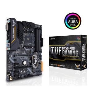 ASUS TUF B450-PRO GAMING [ATX/AM4/B450] 耐久性に優れた ゲー...