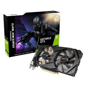 玄人志向 GG-GTX1660-E6GB/DF [GTX1660/GDDR5 6GB] GeForce GTX 1660 搭載グラフィックカード GALAKURO GAMING モデル|goodwill