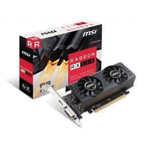 MSI Radeon RX 550 4GT LP OC Radeon RX550搭載グラフィックカード ロープロファイル対応モデル|goodwill
