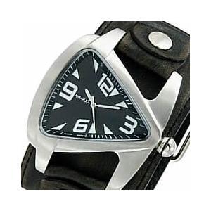 NEMESIS(ネメシス) Leather Cuff/レザーカフウォッチ 011FLBB-K アメリカンカジュアル メンズウォッチ 腕時計【あすつく】|goody-online
