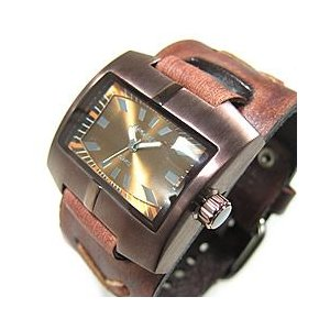 NEMESIS(ネメシス) Leather Cuff/レザーカフウォッチ 060BFXB-B アメリカンカジュアル メンズウォッチ 腕時計 【あすつく】|goody-online