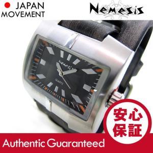 NEMESIS(ネメシス) Leather Cuff/レザーカフウォッチ 060FXB-K アメリカンカジュアル メンズウォッチ 腕時計【あすつく】|goody-online