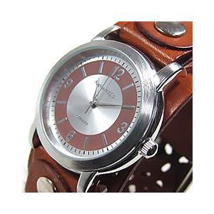 NEMESIS(ネメシス) Leather Cuff/レザーカフウォッチ 094B-WPBB アメリカンカジュアル メンズウォッチ 腕時計 goody-online