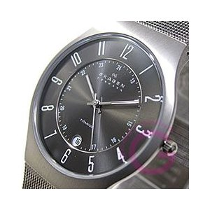 SKAGEN(スカーゲン) 233XLTTM ウルトラスリム チタン メッシュ メンズウォッチ 腕時計【あすつく】|goody-online