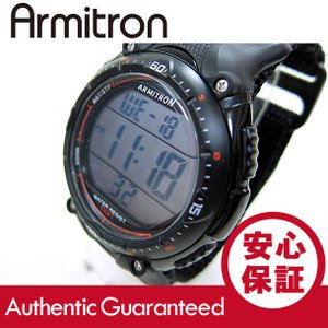 Armitron (アーミトロン) 40-8159BLK デジタル ブラック ラバーベルト メンズウォッチ 腕時計 【あすつく】|goody-online