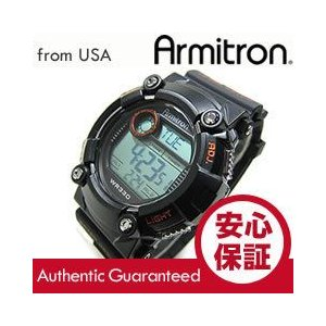 Armitron (アーミトロン) 40-8229MBLK デジタル ブラック ラバーベルト メンズウォッチ 腕時計【あすつく】|goody-online