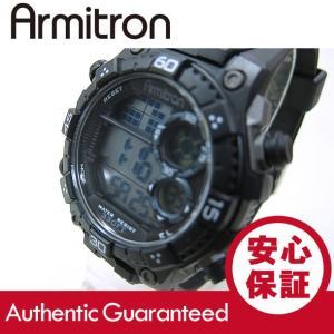 Armitron (アーミトロン) 40-8331BLK デジタル ブラック ラバーベルト メンズウォッチ 腕時計 【あすつく】|goody-online