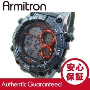 Armitron (アーミトロン) 40-8331GRY デジタル グレー ラバーベルト メンズウォッチ 腕時計 【あすつく】|goody-online