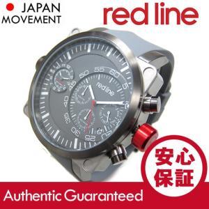 RED LINE(レッドライン) 50048-SS-GY-014-GY Dual Timer/デュアルタイマー クロノグラフ オールブラック ラバーベルト メンズウォッチ 腕時計【あすつく】|goody-online