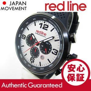 RED LINE (レッドライン) 50057-BB-02S APEX12 クロノグラフ ラバーベルト ブラック×ホワイト メンズウォッチ 腕時計【あすつく】|goody-online