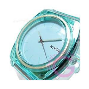 NIXON TIME TELLER P (ニクソン タイムテラー P) A119-1785/A1191785 トランスルーセント ミント ラバーベルト ユニセックスウォッチ 腕時計 【あすつく】 goody-online