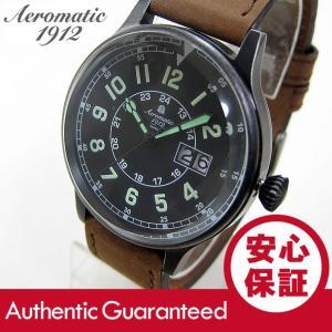Aeromatic 1912(エアロマティック 1912) A1254B ビッグデイト ドイツミリタリー メンズウォッチ 腕時計 【あすつく】|goody-online
