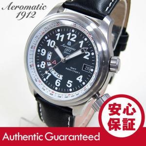 Aeromatic 1912(エアロマティック 1912) A1291 GMT タキメーター ドイツミリタリー メンズウォッチ 腕時計 【あすつく】|goody-online
