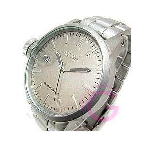 NIXON ニクソン A198-1033 CHRONICLE SS クロニクル 逆リューズ オールロウスティール メンズ 腕時計 【あすつく】|goody-online