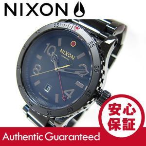 NIXON (ニクソン) A277-1883/A2771883 DIPLOMAT SS ALL BLACK POLISHED/GOLD ディプロマット GMT ブラック メンズウォッチ 腕時計【あすつく】 goody-online