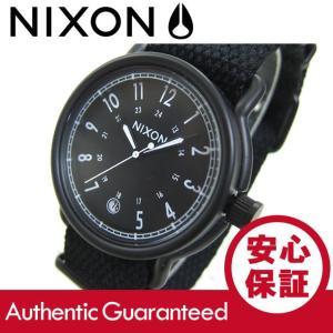 NIXON (ニクソン) A322-1148/A3221148 THE AXE/アックス ナイロンベルト ブラック×ホワイト メンズウォッチ 腕時計 【あすつく】 goody-online