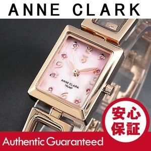 ANNE CLARK/アンクラーク トランプ レディース マザーオブパール ピンクゴールド AA-1030-17PG 腕時計|goody-online