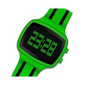 ACTIVA By Invicta(アクティバ) アメリカンカジュアルウォッチ GIOTTO 45 AA400-004 グリーン×ブラック デジタル 腕時計【あすつく対応】|goody-online