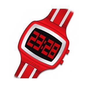 ACTIVA By Invicta(アクティバ) アメリカンカジュアルウォッチ GIOTTO 40 AA401-007 コーラル×ホワイト デジタル 腕時計【あすつく対応】|goody-online
