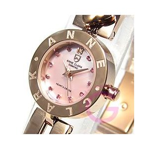 ANNE CLARK (アンクラーク) AM-1020-17PG/AM1020-17PG ブレスタイプ ダイヤモンド ピンクゴールド レディースウォッチ 腕時計【あすつく】|goody-online