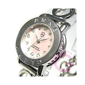 ANNE CLARK (アンクラーク) AN-1021-17/AN1021-17 ブレスタイプ ダイヤモンド シルバー レディースウォッチ 腕時計【あすつく】|goody-online
