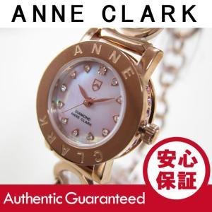 ANNE CLARK (アンクラーク) AN-1021-17PG/AN1021-17PG ブレスタイプ ダイヤモンド ピンクゴールド レディースウォッチ 腕時計|goody-online