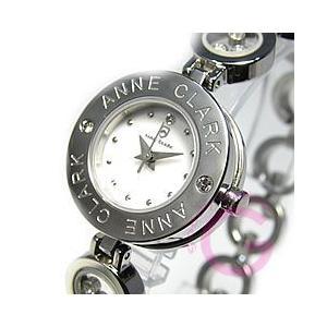 ANNE CLARK (アンクラーク) AT-1008-09/AT1008-09 ブレスタイプ ダイヤモンド シルバー レディースウォッチ 腕時計 【あすつく】|goody-online