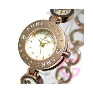 ANNE CLARK (アンクラーク) AT-1008-09PG/AT1008-09PG ブレスタイプ ダイヤモンド ピンクゴールド レディースウォッチ 腕時計【あすつく】|goody-online