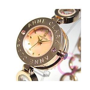 ANNE CLARK (アンクラーク) AT-1008-17PG/AT1008-17PG ブレスタイプ ダイヤモンド ピンクゴールド レディースウォッチ 腕時計 【あすつく】|goody-online
