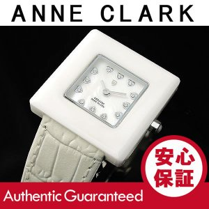 ANNE CLARK/アンクラーク セラミック レディース マザーオブパール ホワイト AU-1029-09 腕時計|goody-online