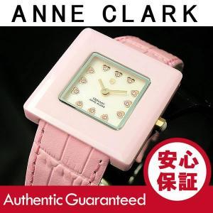 ANNE CLARK/アンクラーク セラミック レディース マザーオブパール ピンク AU-1029-17 腕時計|goody-online