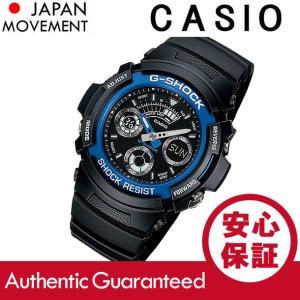 CASIO G-SHOCK カシオ Gショック AW-591-2A/AW591-2A アナデジ ブラック/ブルー メンズ 腕時計|goody-online