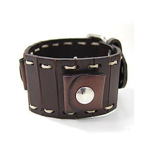 【ラグ幅:22mm対応】NEMESIS(ネメシス)B2ST Leather Cuff/レザーカフ付け替えベルト アメリカンカジュアル 腕時計替えバンド/ベルト【あすつく】|goody-online