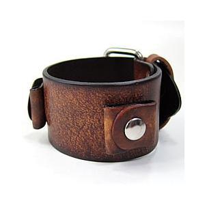 【ラグ幅:20-22mm対応】NEMESIS(ネメシス)BBGB Leather Cuff/レザーカフ付け替えベルト アメリカンカジュアル 腕時計替えバンド/ベルト|goody-online
