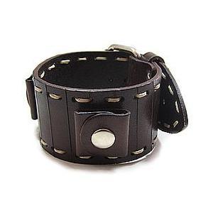 【ラグ幅:20-22mm対応】NEMESIS(ネメシス)BC Leather Cuff/レザーカフ付け替えベルト アメリカンカジュアル 腕時計替えバンド/ベルト 【あすつく】|goody-online