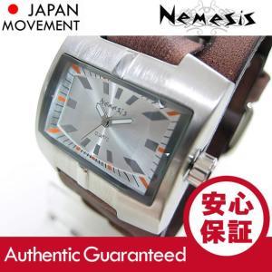 NEMESIS(ネメシス) Leather Cuff/レザーカフウォッチ BFXB060S アメリカンカジュアル メンズウォッチ 腕時計 【あすつく】|goody-online