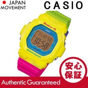 CASIO BABY-G カシオ ベビーG BG-5607-9/BG5607-9 エナジックカラー デジタル イエロー/マルチカラー レディース 腕時計|goody-online