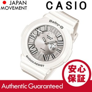CASIO BABY-G カシオ ベビーG BGA-160-7B1/BGA160-7B1 Neon Dial Series/ネオンダイアルシリーズ アナデジ ホワイト レディース 腕時計|goody-online