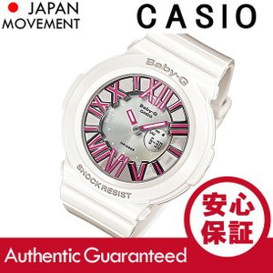 CASIO BABY-G カシオ ベビーG BGA-160-7B2/BGA160-7B2 Neon Dial Series/ネオンダイアルシリーズ アナデジ ホワイト レディース 腕時計|goody-online