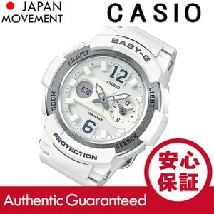 CASIO BABY-G カシオ ベビーG BGA-210-7B4/BGA210-7B4 アナデジ ホワイト レディース 腕時計|goody-online