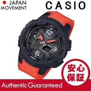 CASIO BABY-G カシオ ベビーG BGA-230-4B/BGA230-4B アナデジ ブラック/オレンジ レディース 腕時計|goody-online