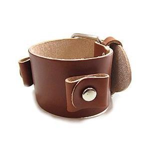 【ラグ幅:20-22mm対応】NEMESIS(ネメシス)BGB Leather Cuff/レザーカフ付け替えベルト アメリカンカジュアル 腕時計替えバンド/ベルト【あすつく】|goody-online