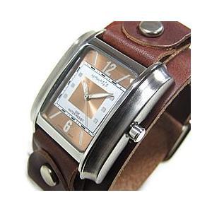 NEMESIS(ネメシス) Leather Cuff/レザーカフウォッチ BGB013B アメリカンカジュアル メンズウォッチ 腕時計【あすつく】|goody-online